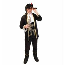 Mens Deluxe Pirate Captain Hook Fancy Costume