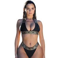Printed Bikini Set