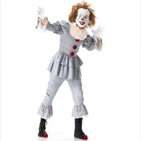 Men's Scary Clown Halloween Adult Cosplay Costume