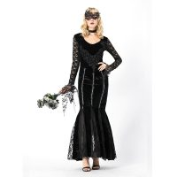 Elegant Mystical Witch Cosplay Halloween Costume