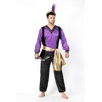 Men Cosply Aladdin Lamp Costume