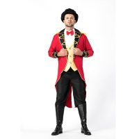Men Magician Cosplay Halloween Costume