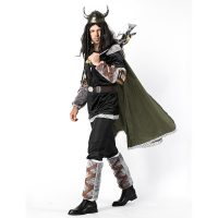 Men Cow Devil Cosplay Costume