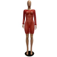 Mesh Barbie Thingz Red Babydoll