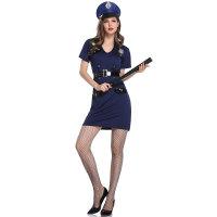 Sexy New Police Cop Uniform Fancy Dress Costume
