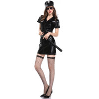 Leather Police Costume Dress