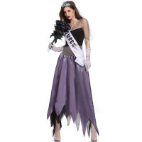 Women Vampire Zombie Bride Styling Sexy Costumes