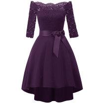 50s 60s Women's Vintage Cocktail Bridesmaid Dress