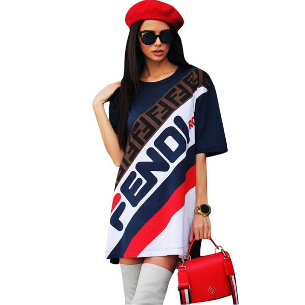 Casual Letter Club Mini Dress