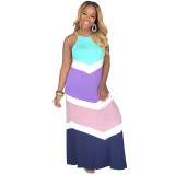 "The ""Lazy"" Colorblock Maxi Dress"
