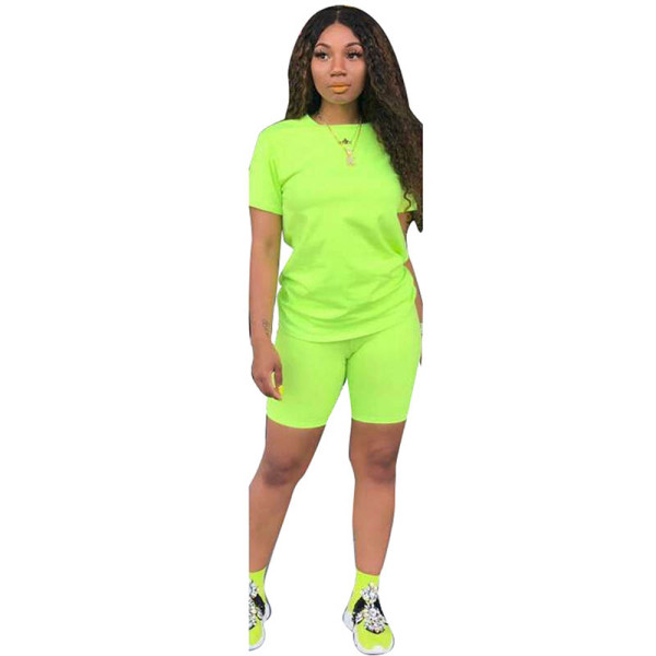 Casual Solid Color Sports Two Piece Pant Set