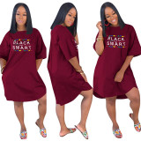 Irregular Plus Size Dress
