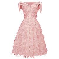 Sexy Off Shoulder Cocktail Fringe Dress