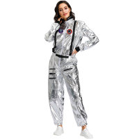 Hot Stamping Women Jumpsuit