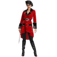 High Seas Heroine Captain Hook Inspired Adult Women's Costume