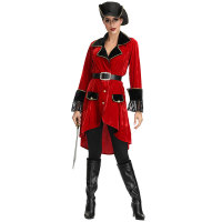 High Seas Heroine Captain Hook Inspired Adult Women's Costume
