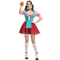 Women's Bavarian Bar Maid Costume