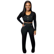 Casual Pit Two Piece Trousers