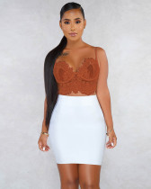 Lace Adjustable Sexy Beach Sling Top