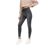 Casual Belted Jeans