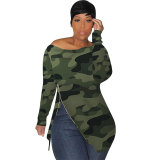 Casual Camouflage T-shirt