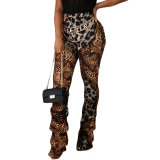 Sexy Leopard Print Trousers