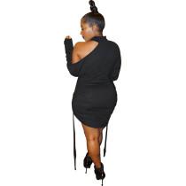Sexy Air Layer High Neck Midi Dress