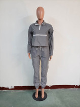 Casual Reflective Two Piece Outfits