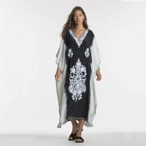 Beach Cotton Positioning Flower Beach Dress