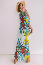 Flower Print Beach Cardigan