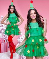 Christmas Tree  Tutu Costume L70936
