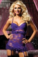Temptation Chemise and Thong Set L2758-4