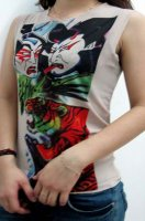 Kabuki - Tattoo Sleeveless T-shirt L9828