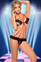 Sweet Dreams Lace Teddy L81168