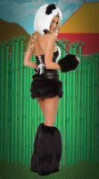 Panda Bear Corset and Skirt L1324