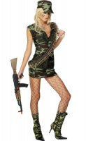 Sexy Army Costumes L1364