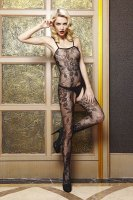 Hot Sexy Floral Patterned Bodystocking L9210