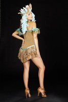 Adult Women Rain Dancing Diva Indian Costume L1314