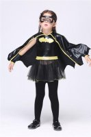 Rubies Batgirl Tutu Child Girl's Halloween Costume L15289