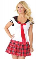 Sweetheart Anime School Girl Costume L15193