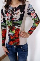 Kabuki - Tattoo Long Sleeve T-shirt L9852