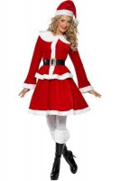 Sweet Miss Santa Costume L70942