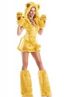 Yellow Bear Beauty Costume L1428-2