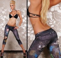 Fashion Girl Short Leggings L356