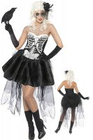 Skeleton  Fancy Dress Costume L1393