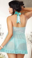 Plus Size Blue Beauty Babydoll P27881
