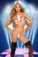 White Nurse & Doctor Sexy Costumes Lingerie L15412
