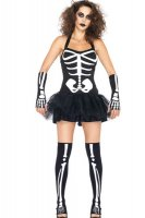 Fever Skeleton Tutu Dress L1394