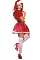 Sexy Womens Candy Cane Cutie Costume L70943