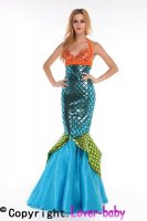 Deluxe Aquarius Mermaid Costume L15270